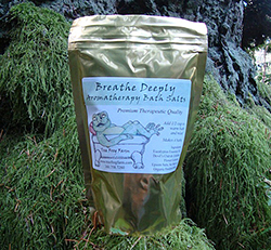Breath Deeply Aromatherapy Flower Essence Bath Salts