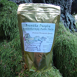 Breathe Deeply Aromatherapy Flower Essence Bath Salts