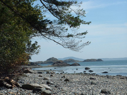Lummi Island Beach