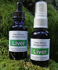 Liver Organ Energy Meridian Blend