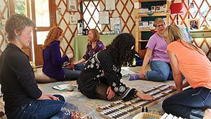 Practitioner Training in Yurt
