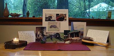 Altar for Smokey