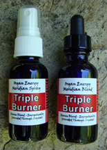 Triple Burner Organ Energy Meridian Essence Blend