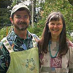 John Robinson and Diana Pepper
