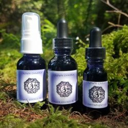 crown chakra flower essence blend