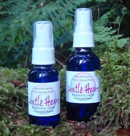 gentle hearts aromatherapy & essence mister - tree frog farm